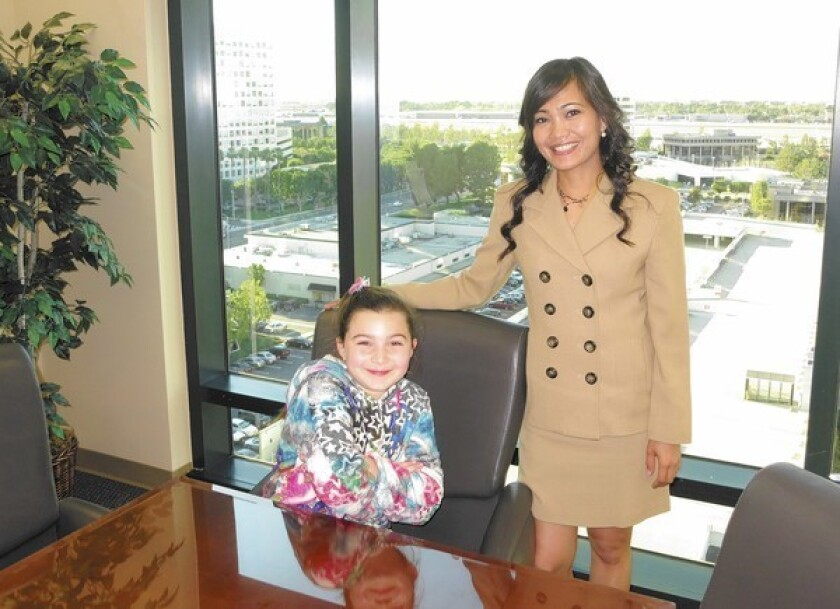Irvine resident named Big Sister of the Year