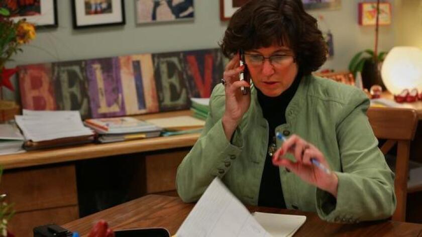 San Diego Unified School District Superintendent Cindy Marten.