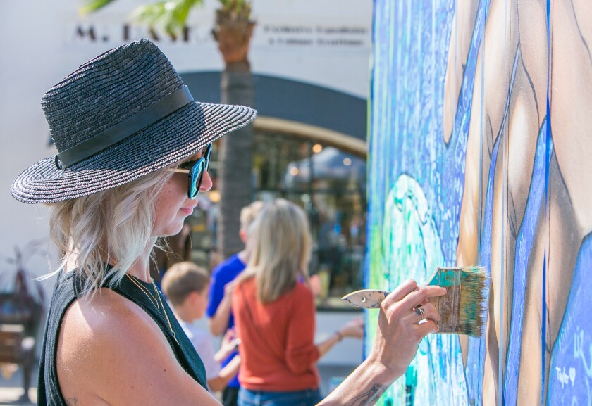 A photo of La Jolla Art and Wine Festival