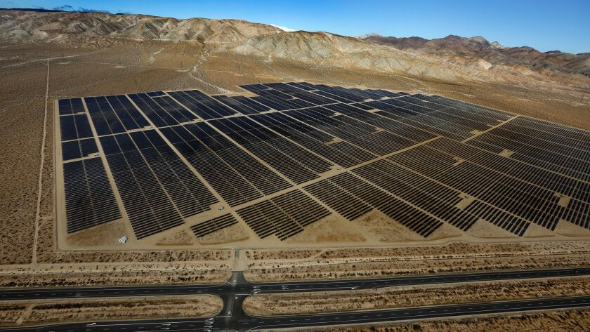 The Cinco Solar Facility in Kern County, which produces 60 megawatts of power, is operated by the Los Angeles Department of Water and Power.