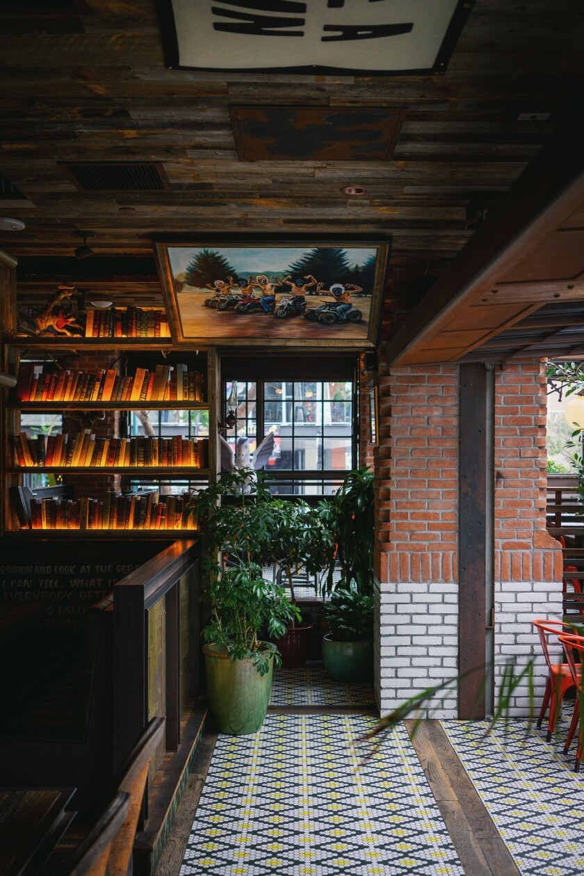 A photo of Craft & Commerce's interior