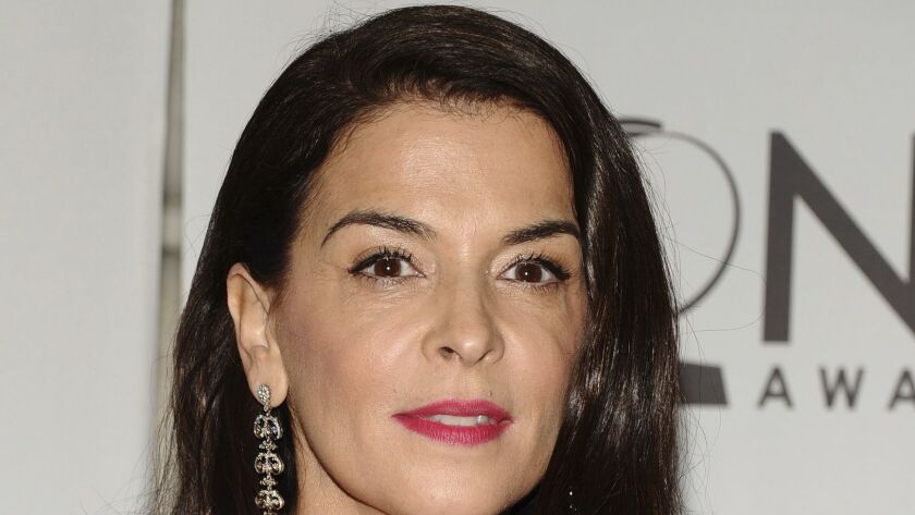 Annabella Sciorra at the 65th annual Tony Awards in 2011.