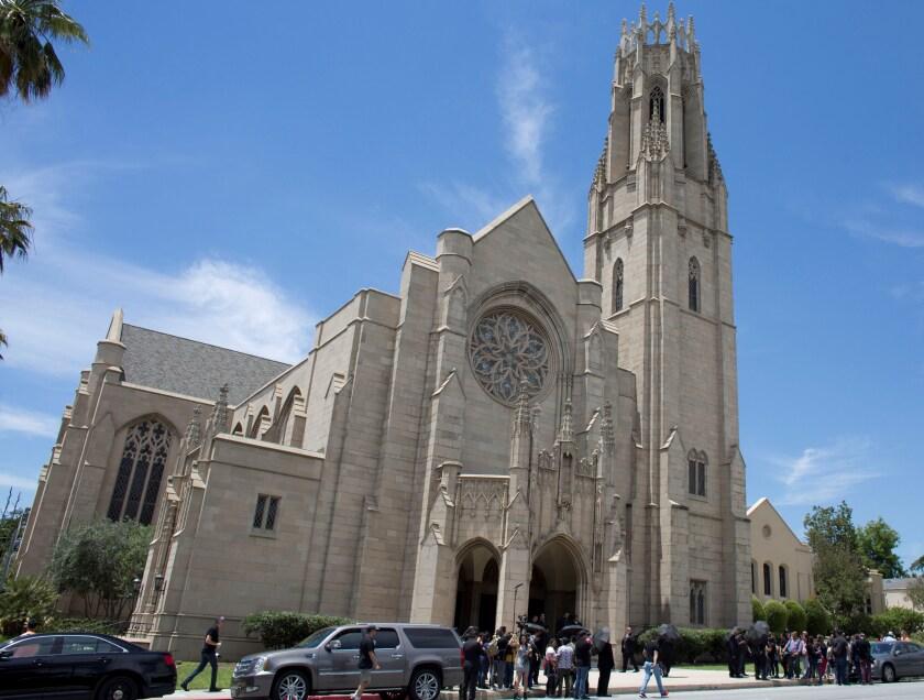 Vista general de una iglesia en Pasadena, California (EE.UU.). EFE/Armando Arorizo/Archivo