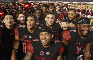 Aztecs finish in final top 25 polls for first time in 30 years