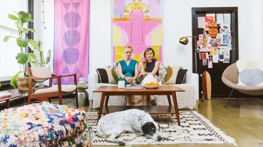 """Write a mission statement that will endure over time, and stick to it,"" said textile designers Hopie and Lily Stockman of Block Shop."