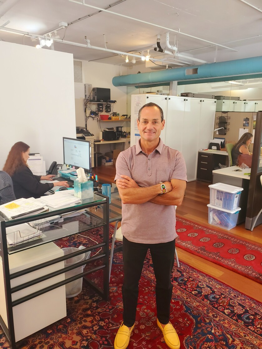 """La Jolla resident Jeff Sternberg, founder of Discovery Health Services and Koi Wellbeing, said both Bird Rock companies will have a COVID-19 antibody test available """"for anyone who wants it."""""""