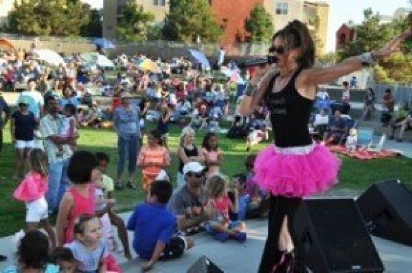 Atomic Groove is making its fifth appearance in the Summer Serenades concert series. All kinds of music are featured in the series lineup. Courtesy photo
