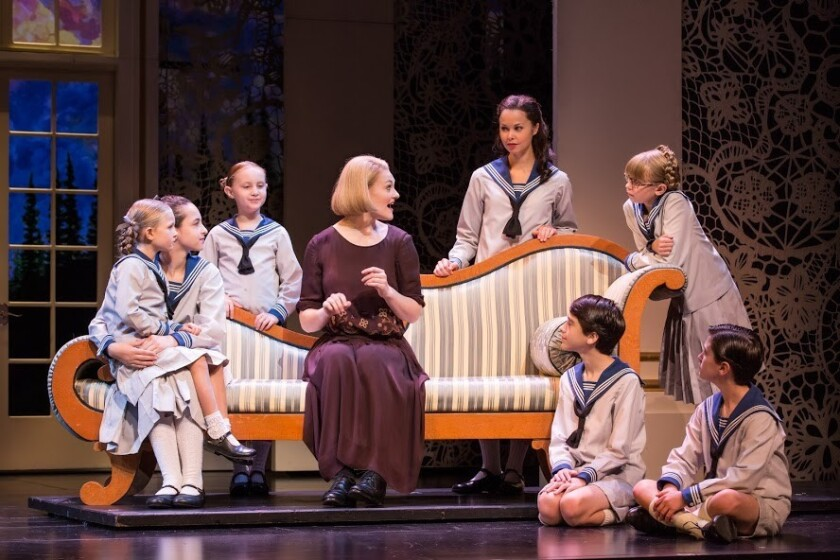 """Kerstin Anderson stars as Maria in the touring production of """"The Sound of Music,"""" which arrives in San Diego this week."""