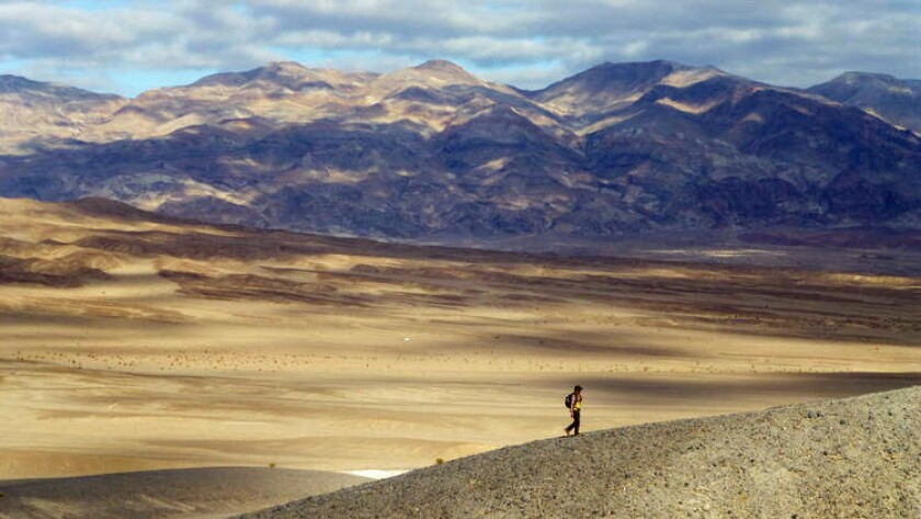The Salt Creek area of Death Valley National Park, where fees are waived Nov. 2 to celebrate the park's 25th year.