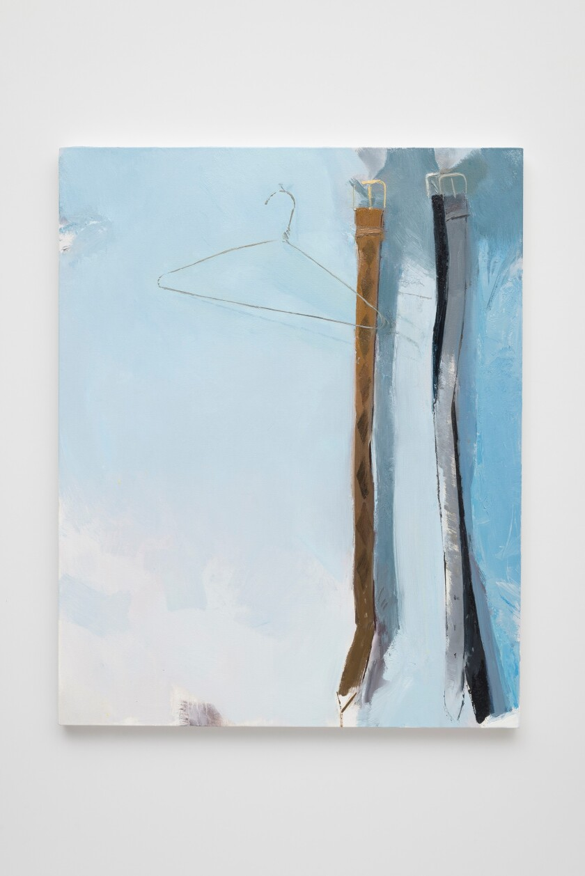 "John Sonsini's ""Apt 207,"" 2019. Oil on canvas, 45 inches by 36 inches"