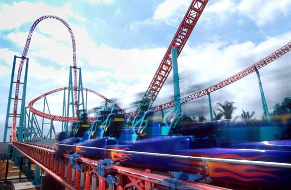 Top 10 Knott S Berry Farm Rides And Attractions Los Angeles Times