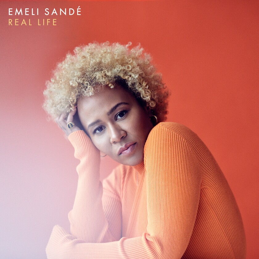 "This cover image released by Capitol Records shows ""Real Life,"" a release by Emeli Sande. (Capitol Records via AP)"