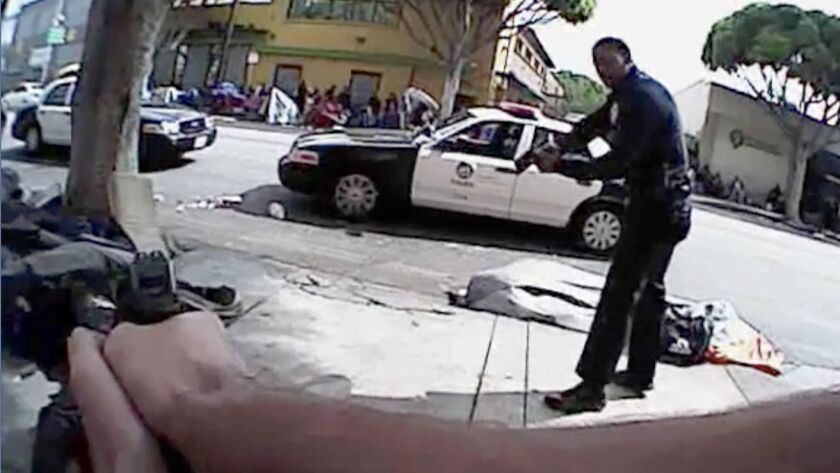 LAPD body camera videos, obtained by the Los Angeles Times, offer a unique look at the dramatic mome