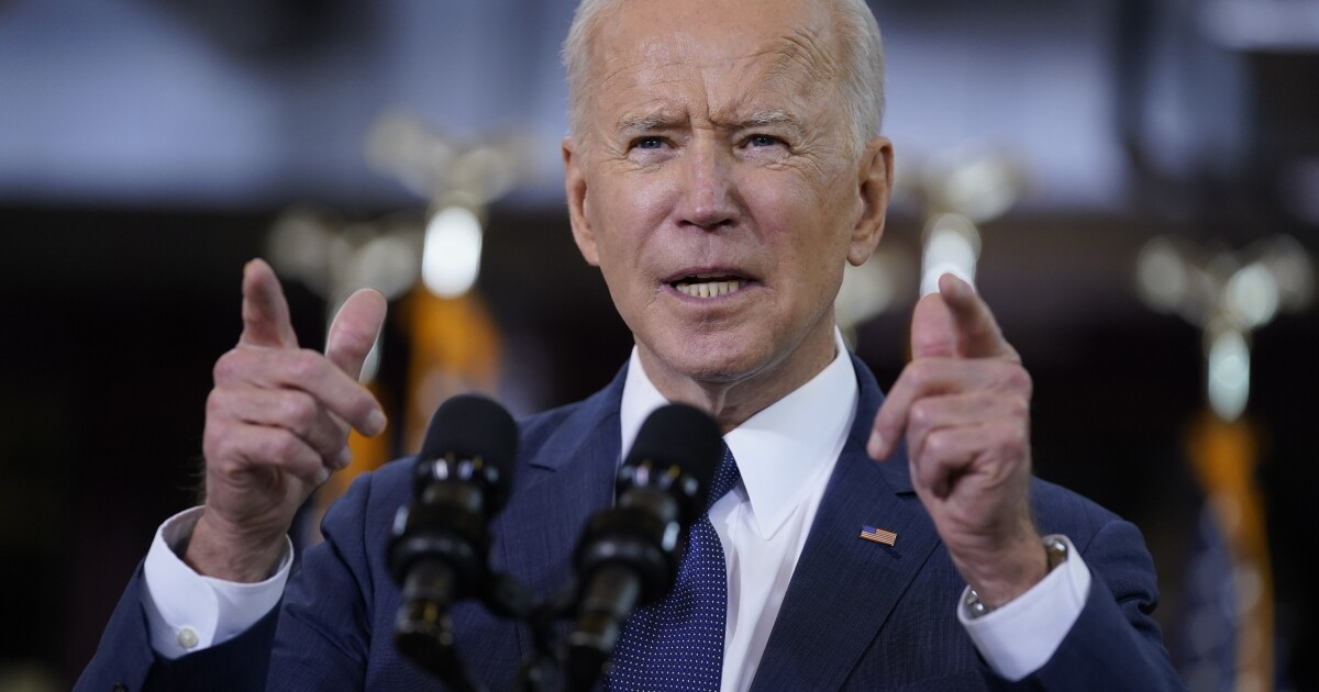Biden calling for big spending on infrastructure - Los Angeles Times