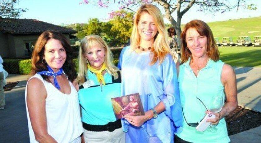 Kathy Lathrum, Joan Scott, Paige Hollen, Jocelyn Scott