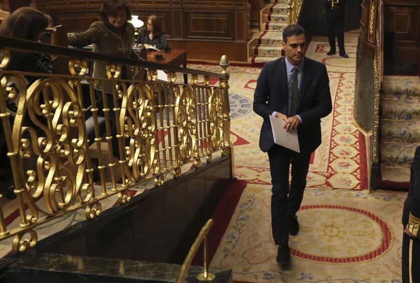 El presidente del Gobierno, Pedro Sánchez. EFE