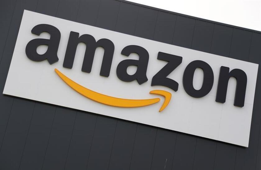 Imagen de archivo muestra el logotipo de la compañía estadounidense Amazon. EFE/Archivo