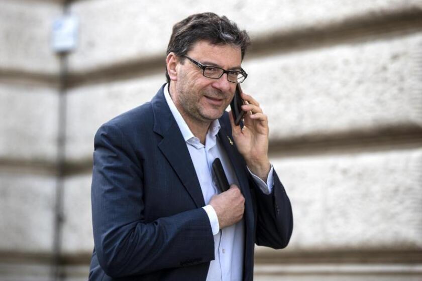 El subsecretario para la Presidencia del Gobierno, Giancarlo Giorgetti. EFE/Archivo