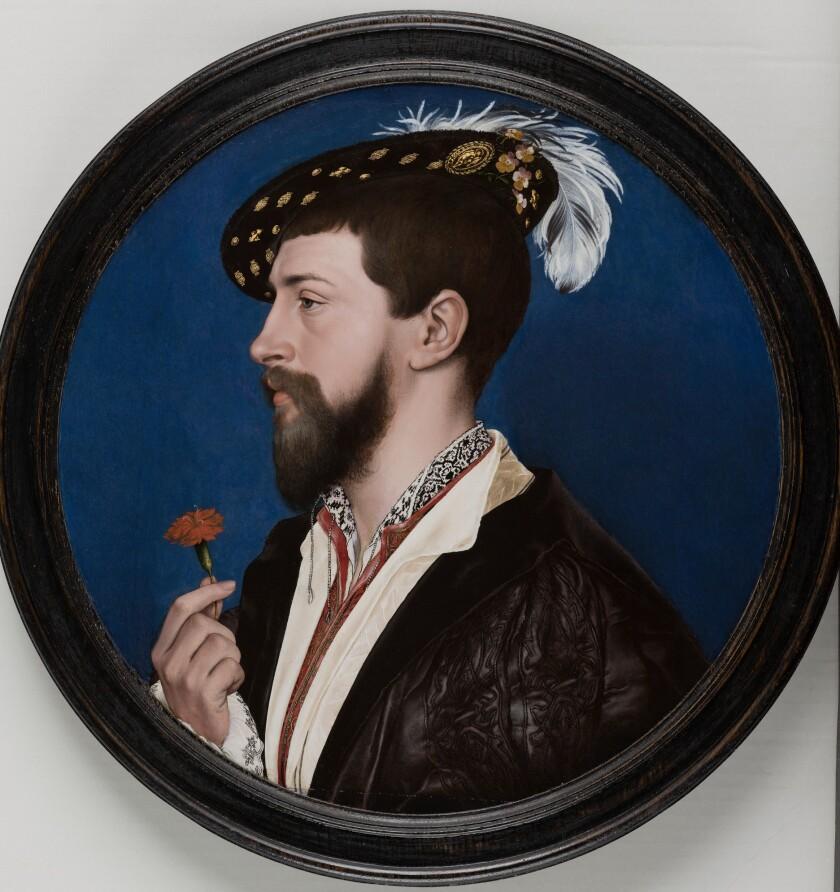 """Simon George of Cornwall"" painting"
