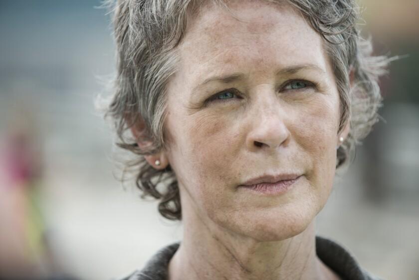 "Melissa McBride stars as Carol in ""The Walking Dead."""