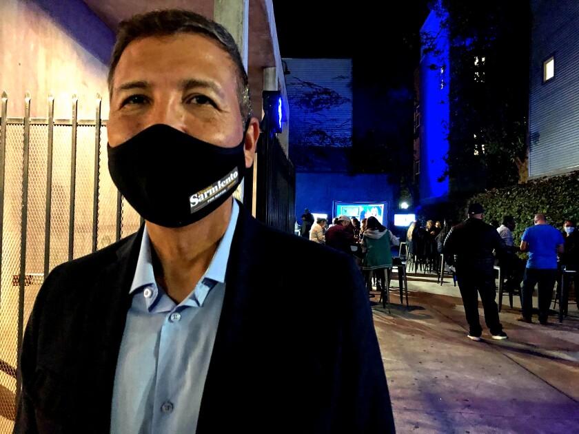Santa Ana Mayor Vicente Sarmiento replaces a 26-year incumbent, Miguel Pulido.