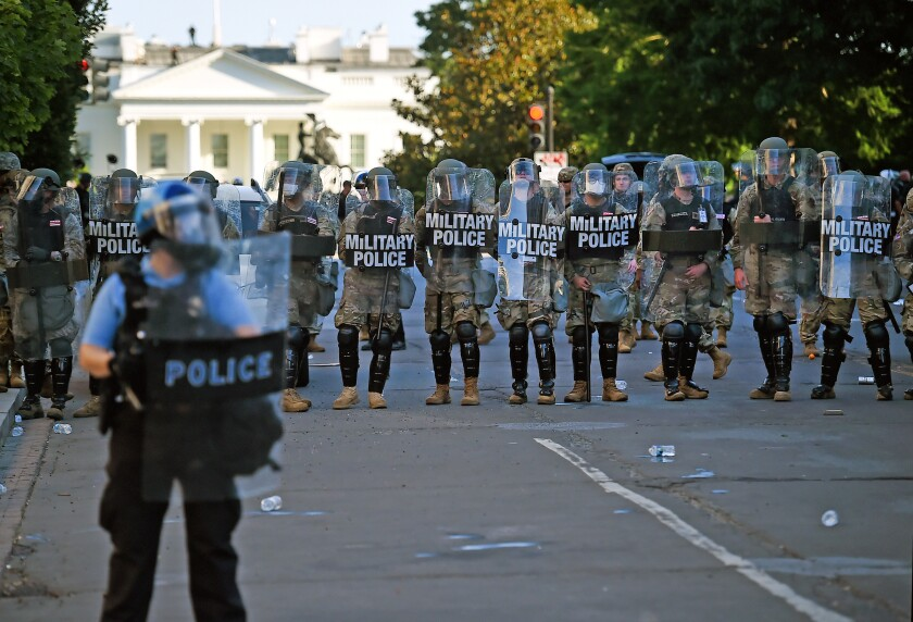 Military police in Washington, D.C.