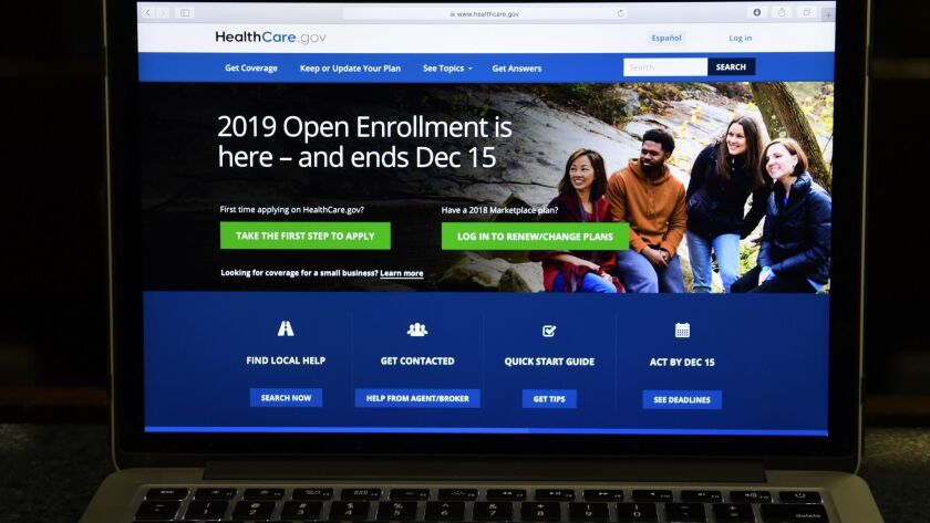 HealthCare.gov is the federal website to sign up for health insurance.