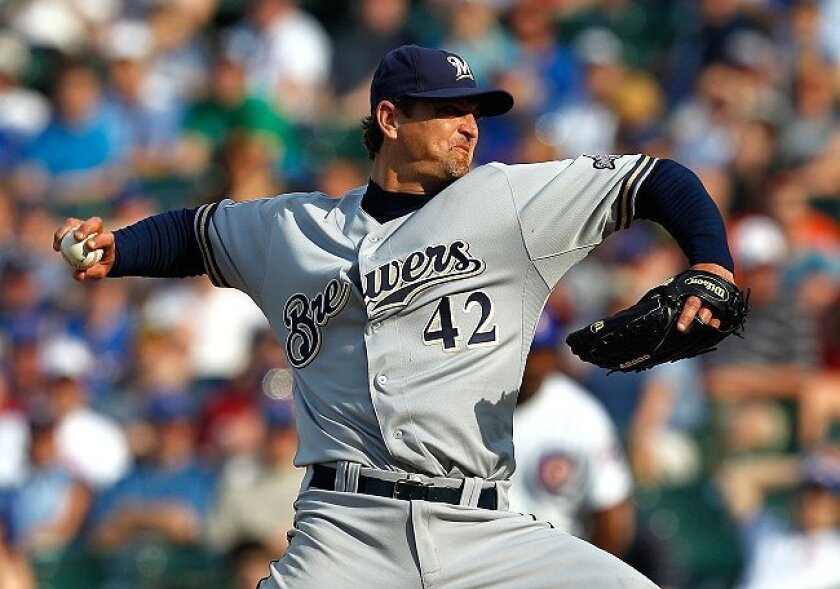Saves king Trevor Hoffman's return to San Diego this week has hardly been triumphant.