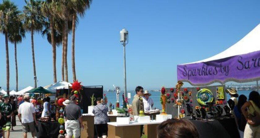 More than 100 artists are scheduled to take part in Coronado Art Walk Sept. 14 and 15, 2013 at the Coronado Ferry Landing. Courtesy Photo