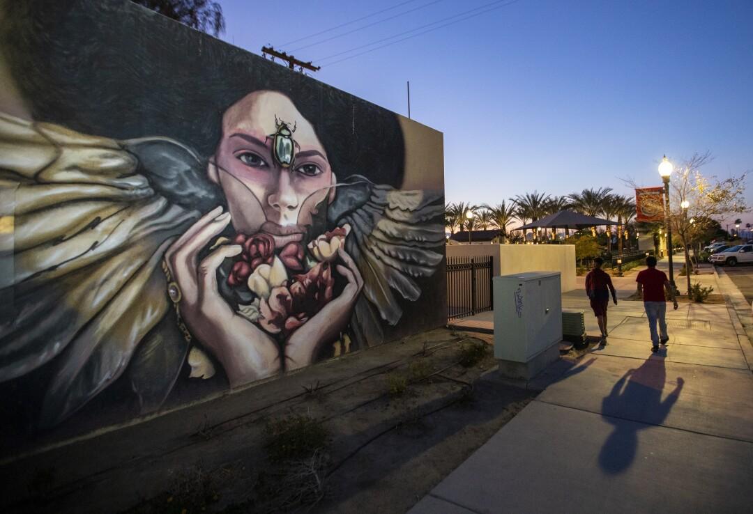 Mural downtown Coachella