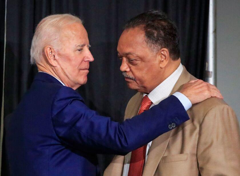Joe Biden addresses Rainbow PUSH annual meeting, Chicago, USA - 28 Jun 2019