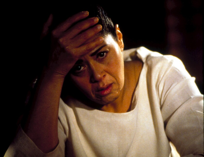 "Anna Deavere Smith in ""Twilight: Los Angeles, 1992."""