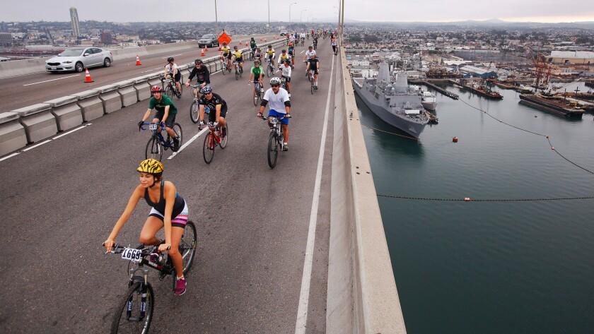 Bike the Bay ride