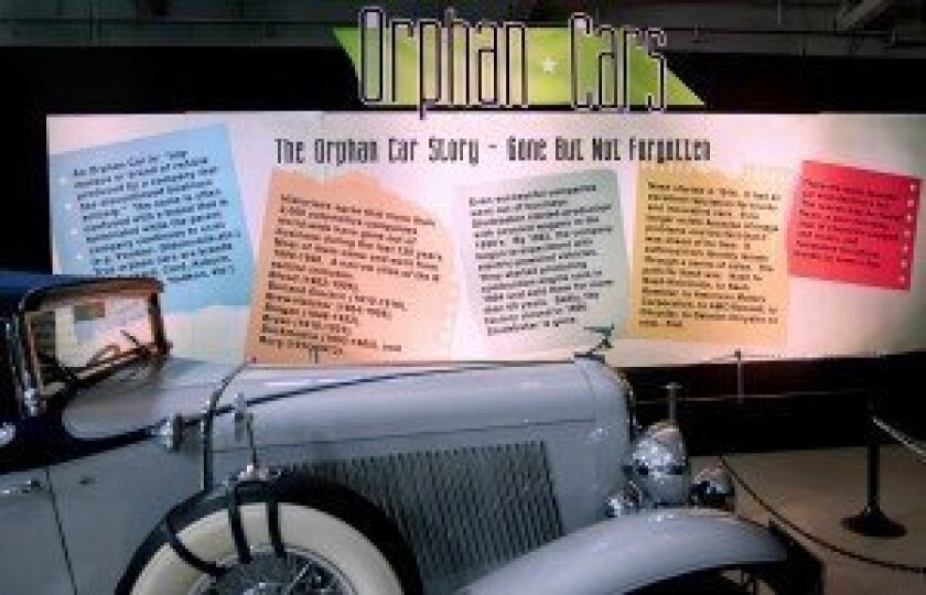 Orphan Cars – Gone but not Forgotten