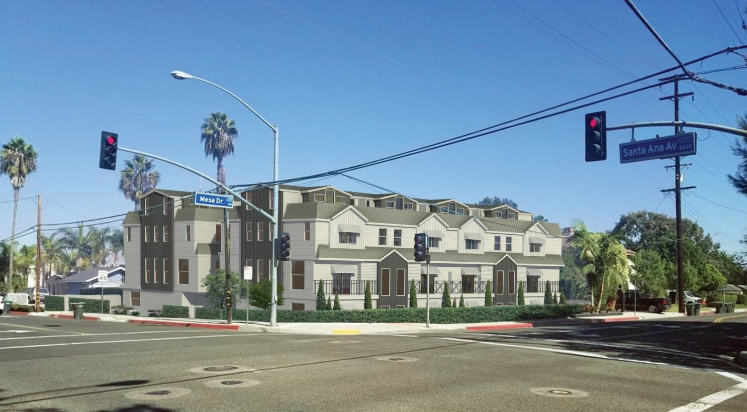 Newport Beach council to take a look at townhouse project proposed in Santa Ana Heights