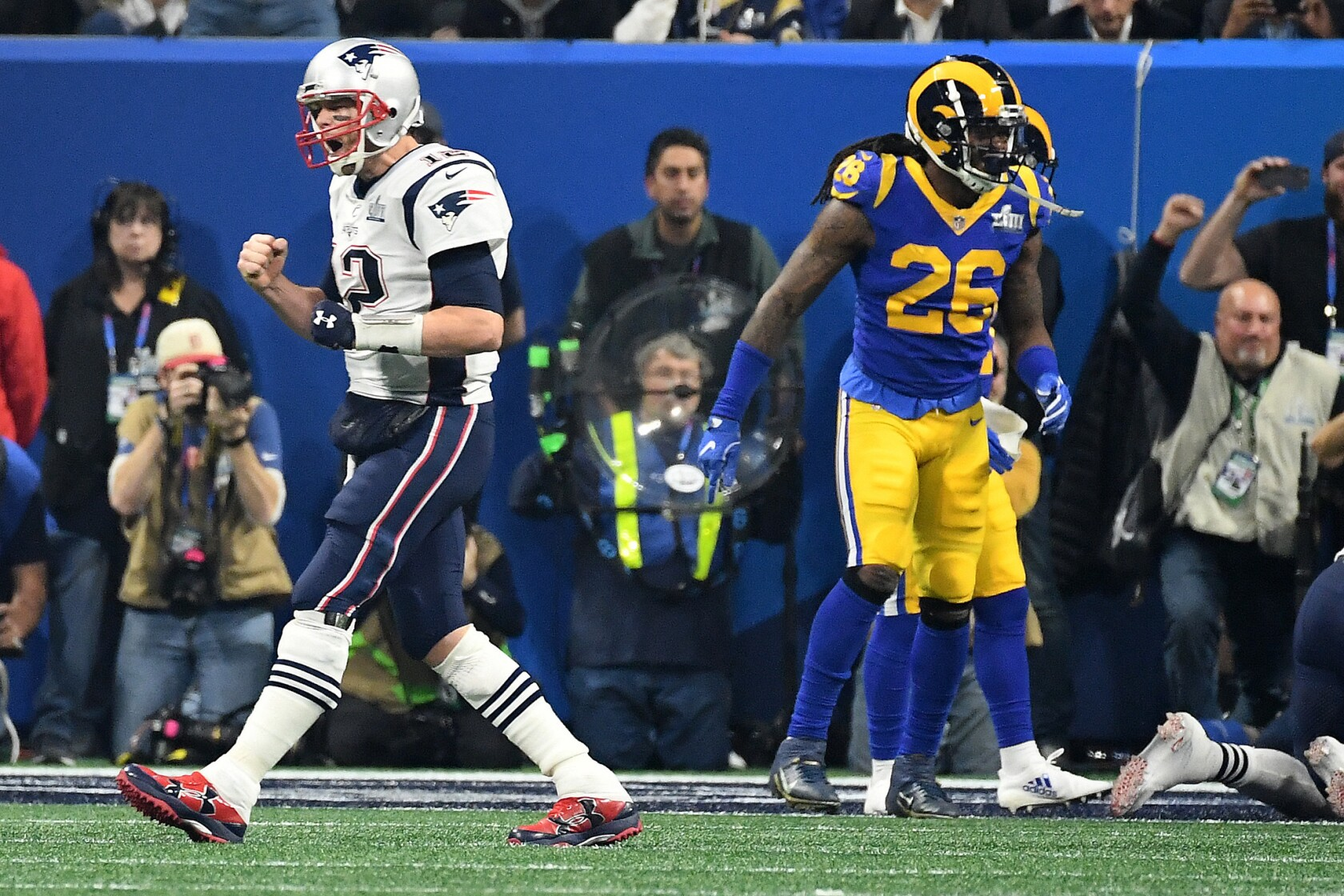 Patriots One Two Punch Of Julian Edelman And Rob Gronkowski