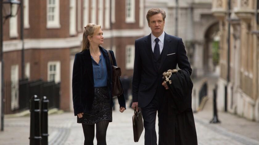 "Renée Zellweger and Colin Firth in the movie ""Bridget Jones's Baby."""