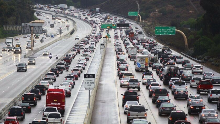 Traffic can pile up during rush hour and even worse when accidents take place. Carpool lanes can provide relief from such congestion.