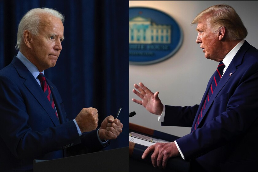 The presidential election between Democratic candidate Joe Biden and President Trump is entering its final stretch.