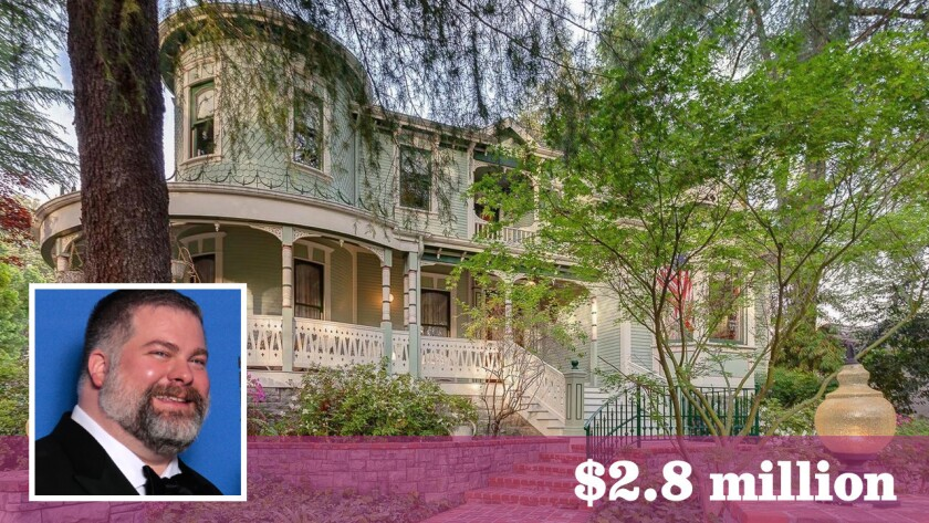 Film director-producer Dean DeBlois has paid $2.8 million for a Victorian-style home in La Cañada Flintridge.