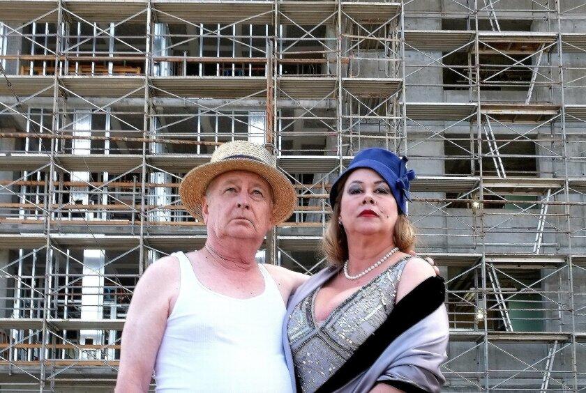 "Francis Thumm and Dana Hooley star in Sledgehammer_'s ""Happy Days."""