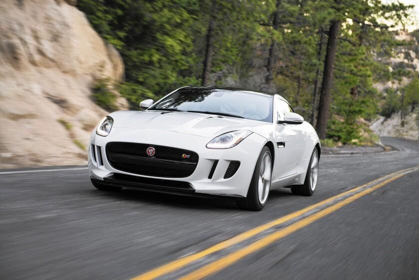 Jaguar F Type Convertible >> Review Jaguar F Type Coupe Is Seductive Hardtop Option