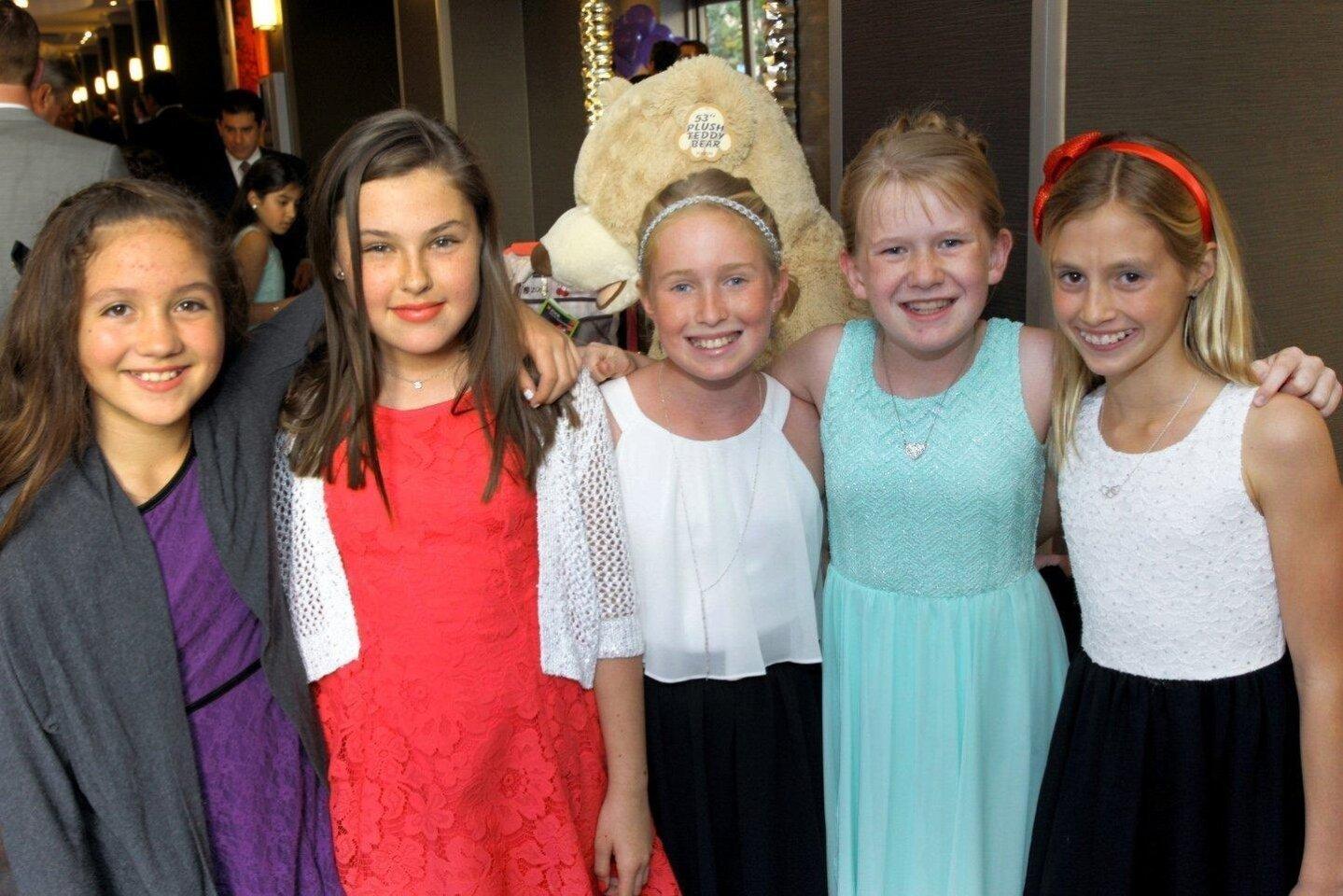 Keilani Miller, Sophie Dunn, Faith Bigelow, Maia Lambson, Chloe Briggs