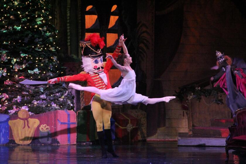 City Ballet of San Diego, accompanied by the City Ballet Orchestra and Chorus, performs 'The Nutcracker' Dec. 8-24, 2017 at Spreckels Theatre in downtown San Diego.
