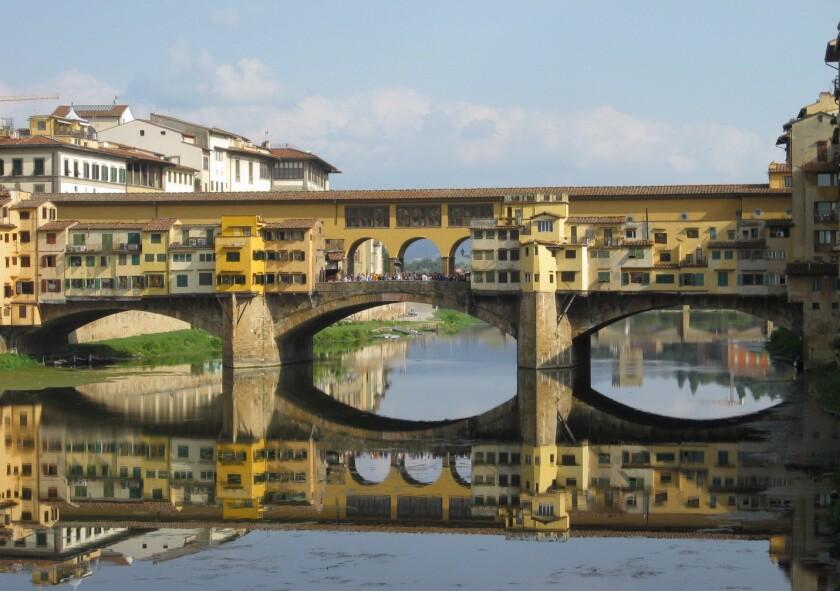 Ponte Vecchio in Florence, Italy.