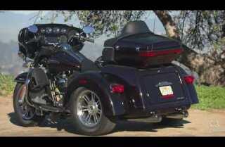 Highway 1: 2015 Harley-Davidson Tri Glide Ultra
