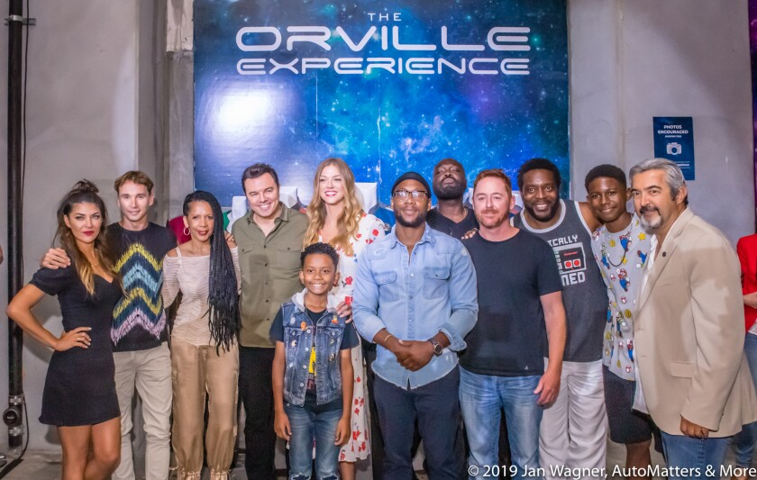 Seth MacFarlane at The Orville Experience during San Diego Comic-Con