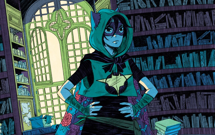 """""""Shadow of the Batgirl"""" is a new Cassandra Cain origin story by author Sarah Kuhn and artist Nicole Goux."""