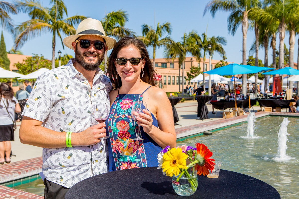 Wine-lovers raised a glass or two at VinDiego, San Diego's classiest wine festival, at Liberty Station on Saturday, April 14, 2018.