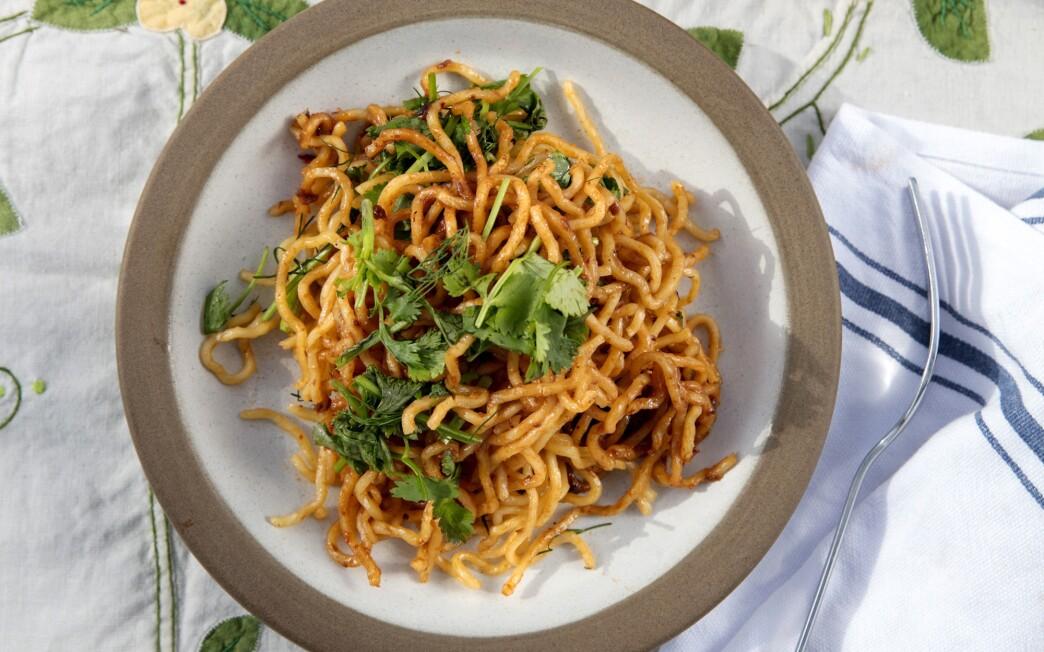 Spicy Shrimp Paste Noodles